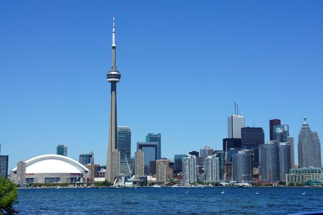 intercambio no canadá toronto skyline