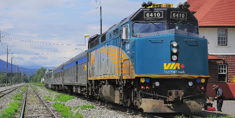 Viagem de Trem pelo Canadá